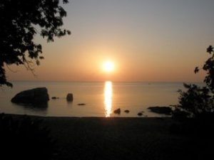 Sunrise on Lake Malawi