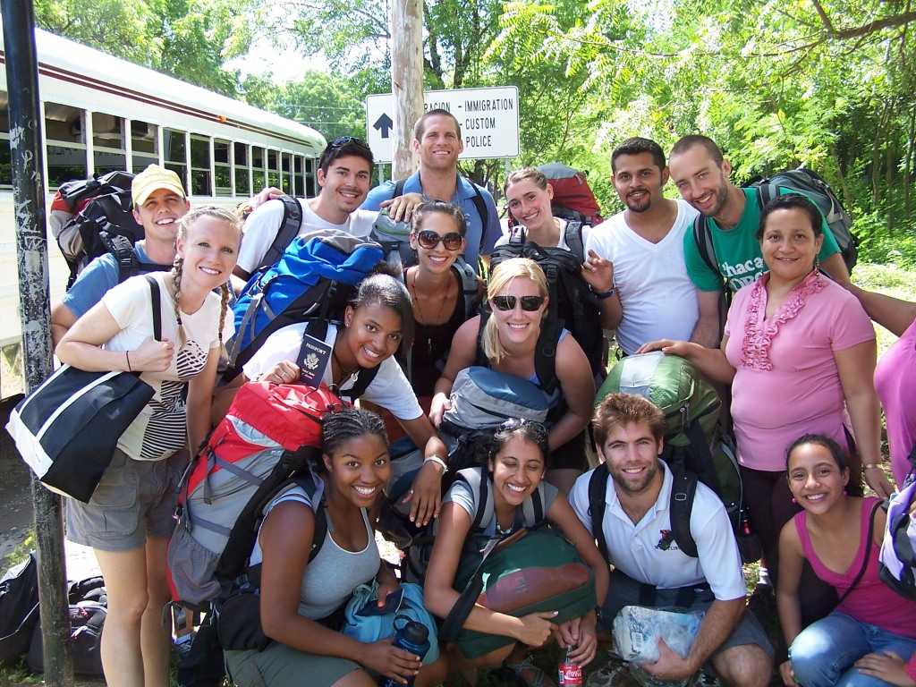Honduran Health Alliance students, summer 2009